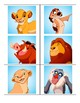 Lion King Characters Decoration
