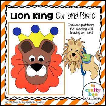 Circus Lion Craft