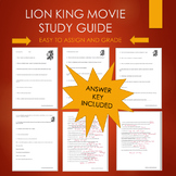 Lion King Movie Guide