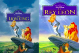 Lion King Movie Guide in ENGLISH & SPANISH   El Rey León Preguntas