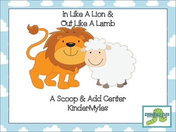 Lion & Lamb {Scoop & Add} Freebie