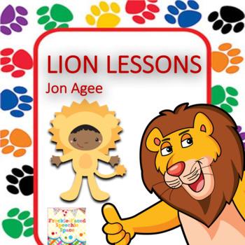 Lion Lessons literacy companion