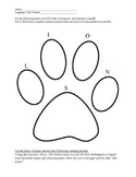 Lion Paw Character Worksheet