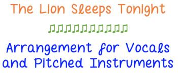 Lion Sleeps Tonight Instrumental and Vocal Performance