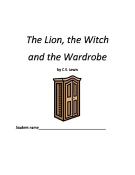 Lion, Witch, Wardrobe vocabulary and fantasy element packet