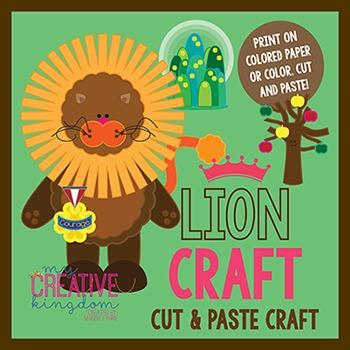 Lion Wizard of Oz Craft