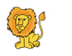 Lion and Lamb Composition cutouts (color)