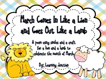 Lion and Lamb March Similes Poetry