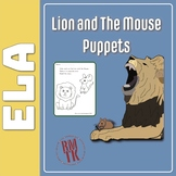 Lion and The Mouse Puppets Free