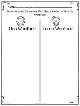 Lion or Lamb?  Which Will It Be?