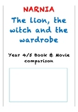 Lion the Witch and the Wardrobe - Book and Movie analysis