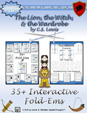 Lion, the Witch, and the Wardrobe Narnia C.S. Lewis Character Analysis Fold-Ems