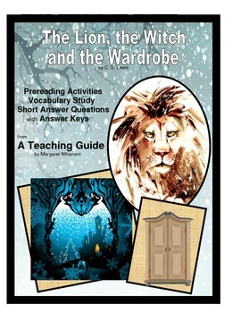 Lion, the Witch, and the Wardrobe Prepreading, Vocabulary, SAQuestions
