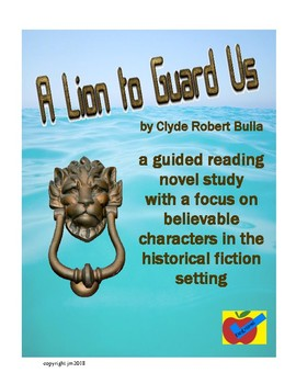 Lion to Guard Us guided reading novel study