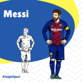 Lionel Messi Soccer player for Hispanic Heritage Month