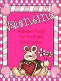 Valentine Alphabet Match...Extra Large for Little Hands