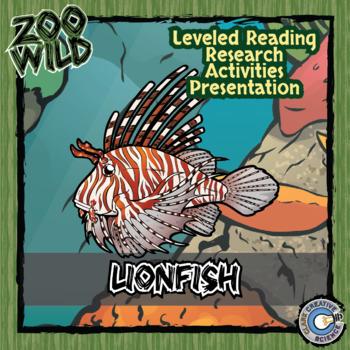 Lionfish - 15 Zoo Wild Resources - Leveled Reading, Slides & Activities