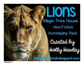 Lions: A Non-Fiction Magic Tree House Accompany Pack