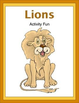 Lions Activity Fun