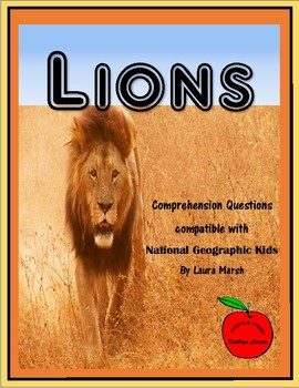 Lions / Compatible with National Geographic Kids