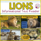 Lions Informational Text Reader