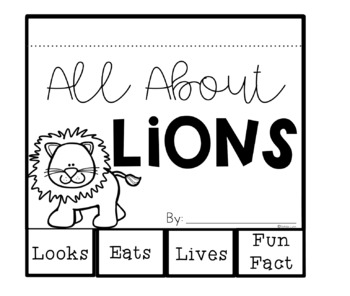 Lions Nonfiction Writing