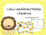 Lions Nonfiction/Fiction Literature