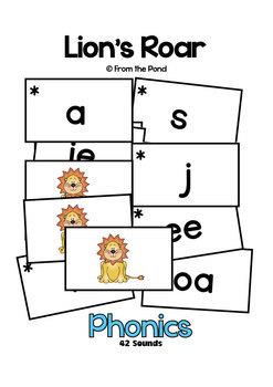 Phonics Games - Lions Roar Literacy Activity for 42 Sounds