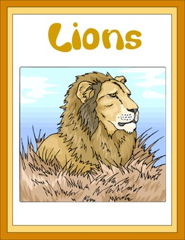 Lions Thematic Unit