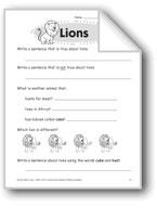 Lions (Thinking Skills)