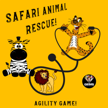 Lions, Tigers, Zebras and Veterinarians: Physical Education Agility Game!
