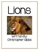 Lions a Nonfiction Text