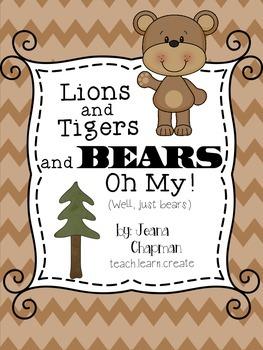 A BEARY Unit - Brown Bear Brown Bear and Goldilocks and the Three Bears