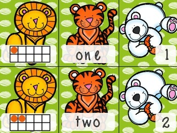 Lions and Tigers and Bears! Oh My!~Numeracy Center