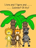 Lions and Tigers and Zebras Oh My! A non fiction close read packet