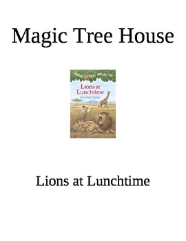 Lions at Lunchtime Book Study