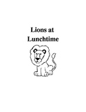 Lions at Lunchtime Comprehension Questions