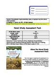Lions at Lunchtime - Magic Tree House #11 Novel Study Assessment Pack