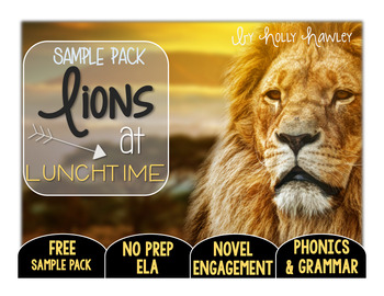 Lions at Lunchtime NO PREP (ELA) SAMPLE