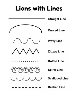 Lions with Lines