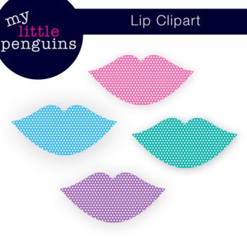 Lip Clipart Freebie (clip art free 300 ppi)