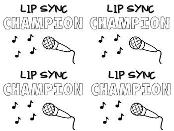 Lip Sync Battle - A Fun Music Activity FREEBIE