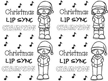 Lip Sync Battle - Christmas Edition FREEBIE