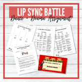Lip Sync Battle - Dance and Drama Assignment