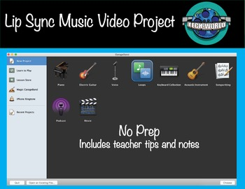 Lip Sync Music Video Using iMovie