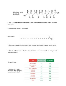 Lipids II Intro - A Guided Inquiry