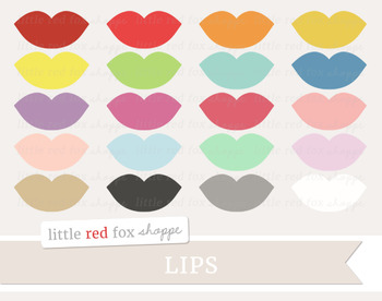 Lips Clipart; Lipstick, Beauty