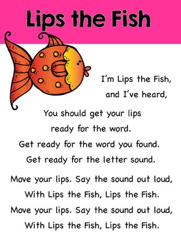 """Lips the Fish"" Reading Strategies Song"