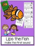 Lips the Fish Reading Strategy Practice Packet