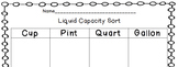 Liquid Capacity: Measurement Sort